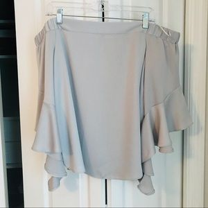River Island Off-The-Shoulder Top